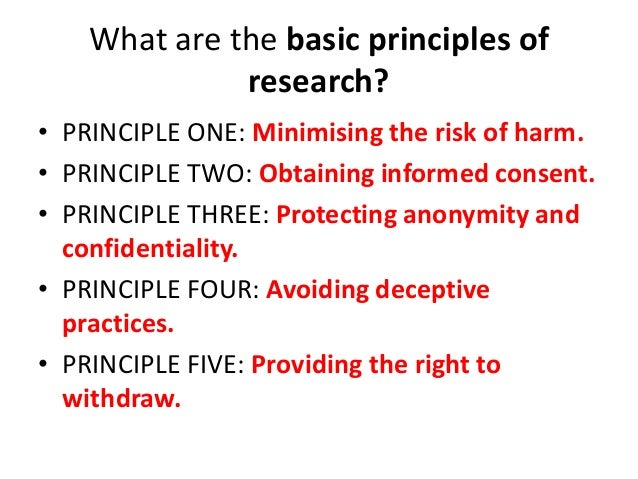 What is Research Ethics and  what is it's Importance? Slide 3