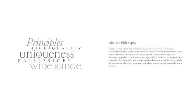 FASHION COMPANY PROFILE PDF