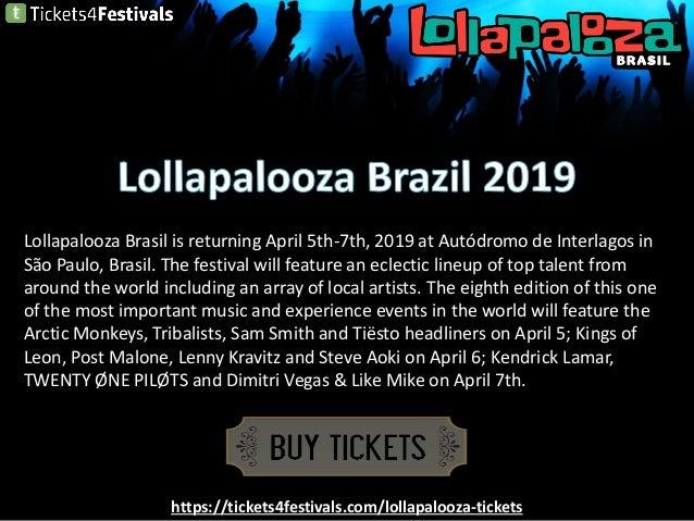 Lollapalooza Brazil Tickets Discount Slide 2