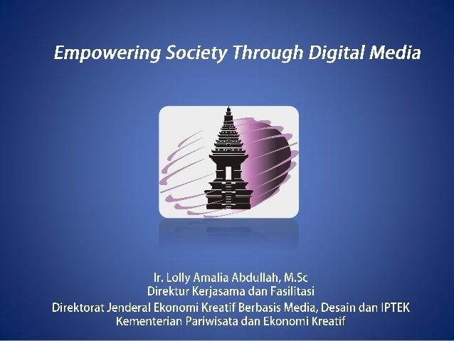 Outline Definisi Media Digital Peran Digital Media Peran Perguruan Tinggi dan Pemerintah Tantangan dan Peluang Bagi Entrep...