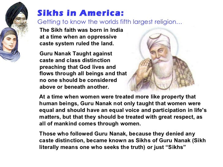 Sikhs in America Slide 3