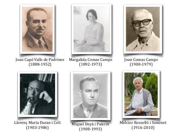 Joan  Capó  Valls  de  Padrines   (1888-‐1952) Margalida  Comas  Camps   (1892-‐1973) Joan  Comas  C...