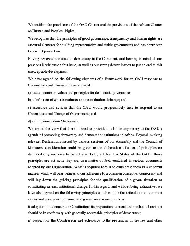 Lome declaration   coup! Slide 2