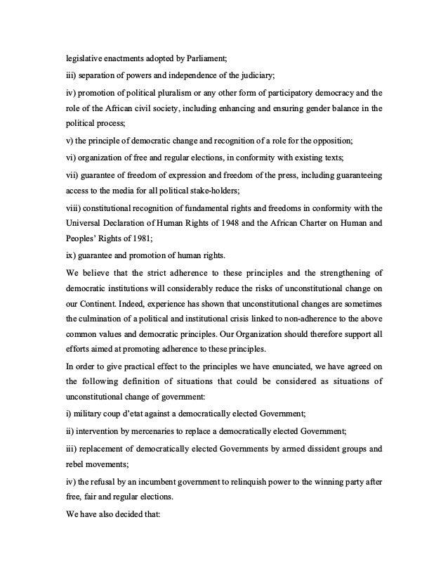 Lome declaration   coup! Slide 3