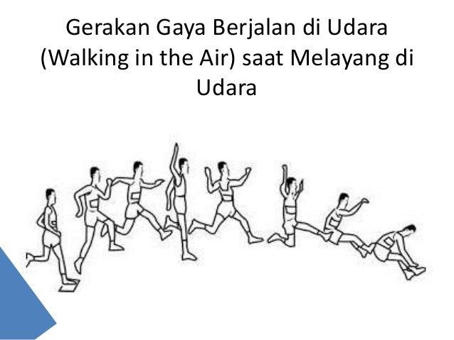 Lompat Jauh Gaya Berjalan Diudara Mutakhir