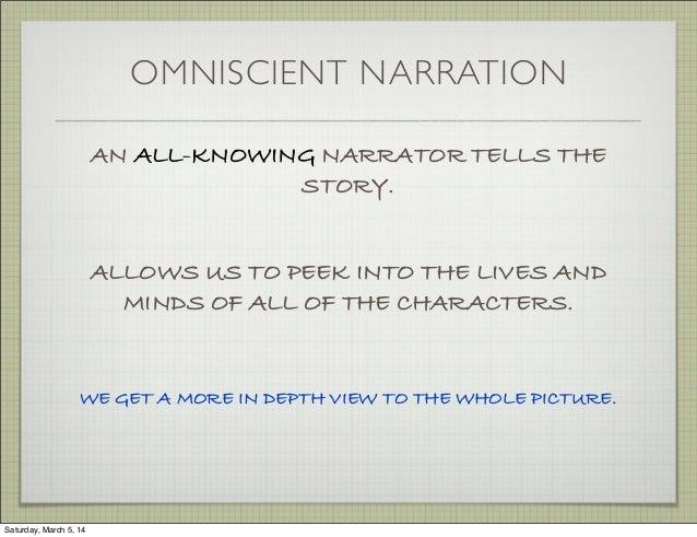 discourse omniscient narration