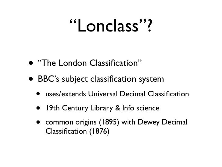 NoTube: Investigating Lonclass Slide 2