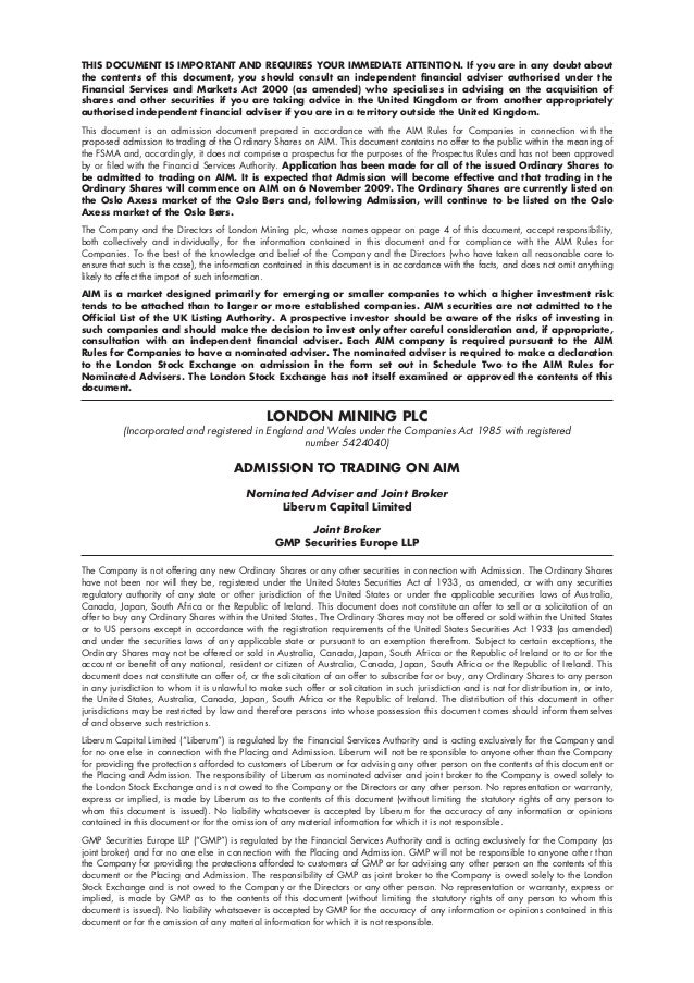 THIS DOCUMENT IS IMPORTANT AND REQUIRES YOUR IMMEDIATE ATTENTION. If you are in any doubt aboutthe contents of this docume...
