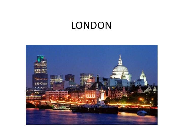 LONDON<br />