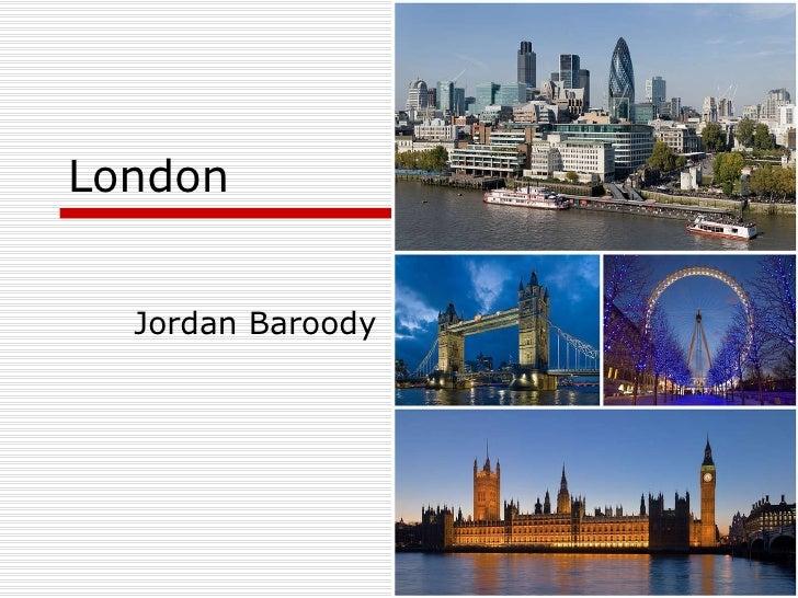 London  Jordan Baroody