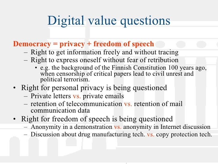 Examples List on Digital Democracy