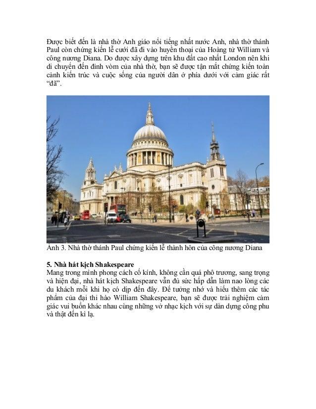 Khám phá thành phố thủ đô London Slide 3