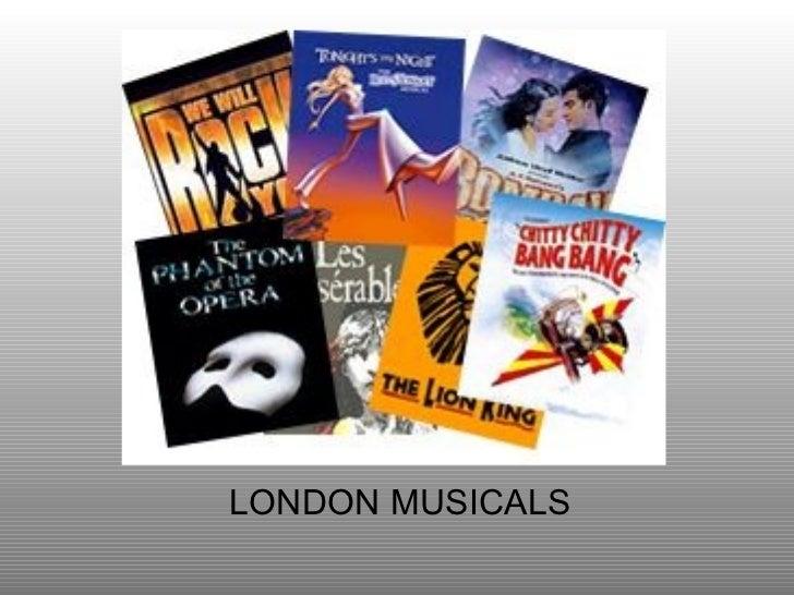 LONDON MUSICALS
