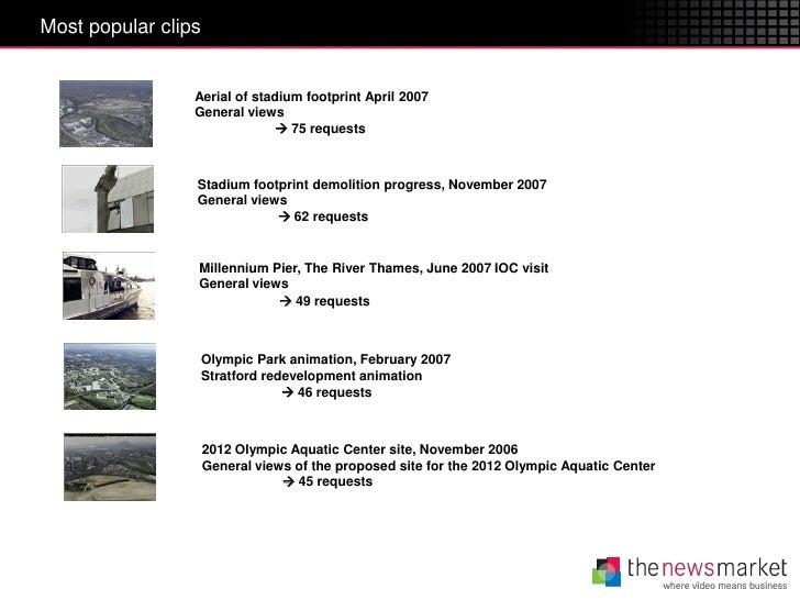 Most popular clips                 Aerial of stadium footprint April 2007                 General views                   ...