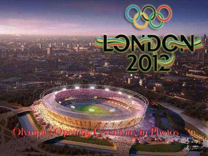 Olympics Opening Ceremony in Photos
