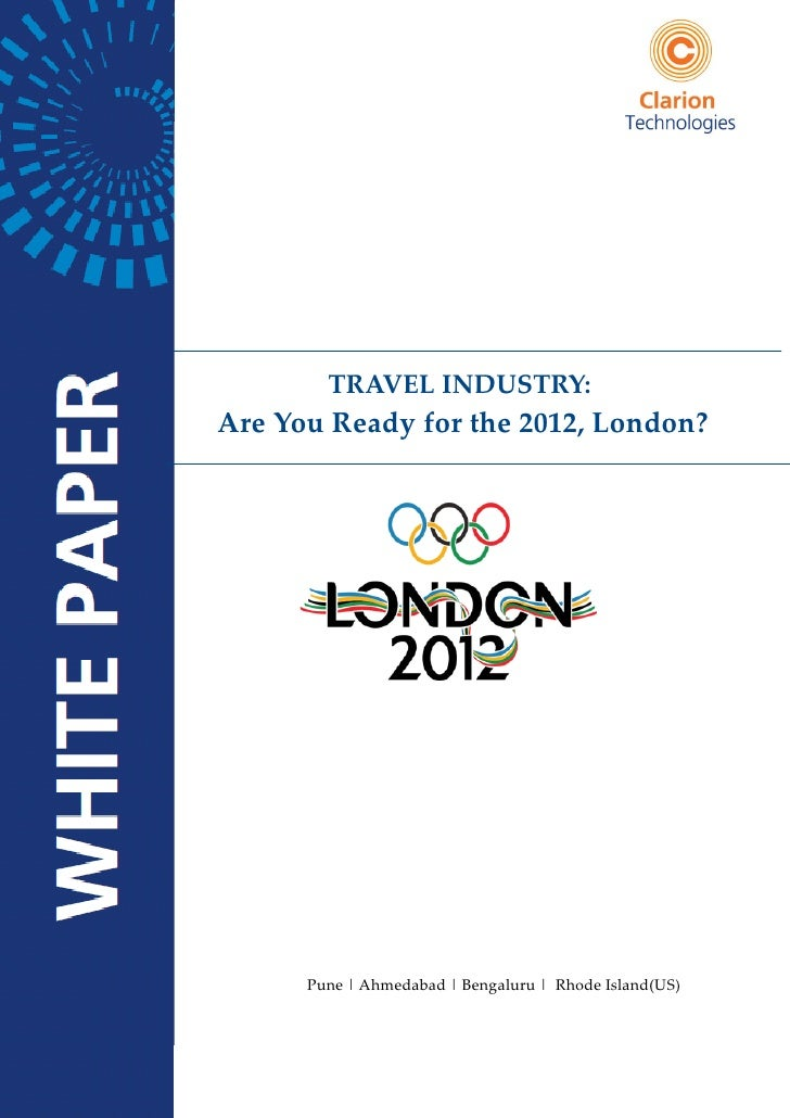 TRAVEL INDUSTRY:Are You Ready for the 2012, London?      Pune   Ahmedabad   Bengaluru   Rhode Island(US)                  ...