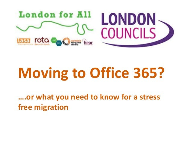 Moving to Office 365? ….or what you need to know for a stress free migration