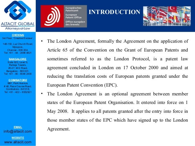 London Agreement