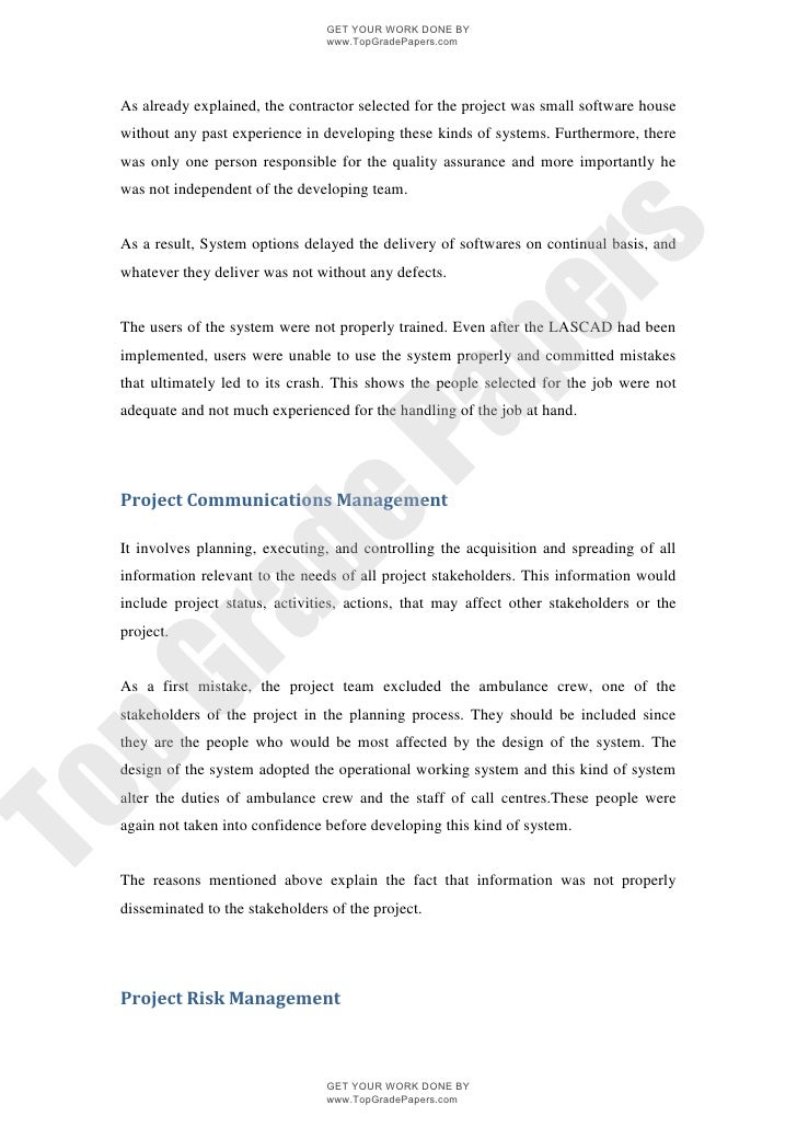 london ambulance system academic essay assignment topgradepap  topgradepapers com 7