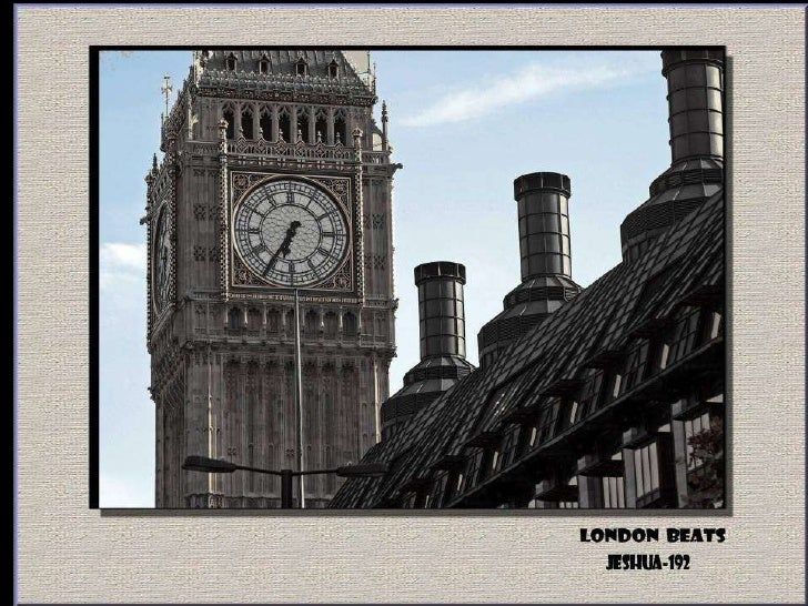London Beats Slide 3