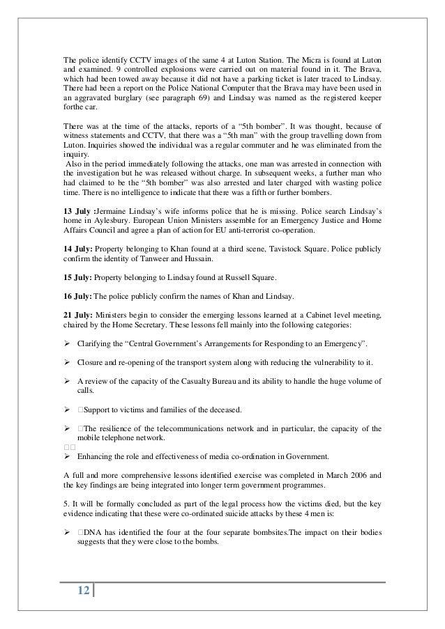 100 casual resume terrorism in