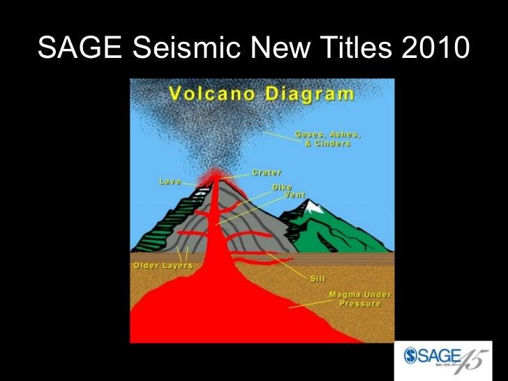 SAGE Seismic New Titles 2010