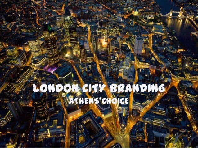 LONDON CITY BRANDING ATHENS'CHOICE