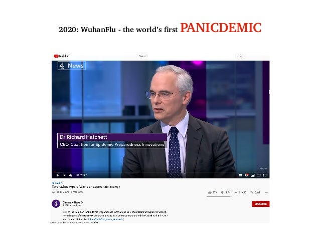 2020: WuhanFlu - the world's first PANICDEMIC