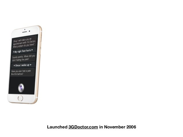 Launched 3GDoctor.com in November 2006