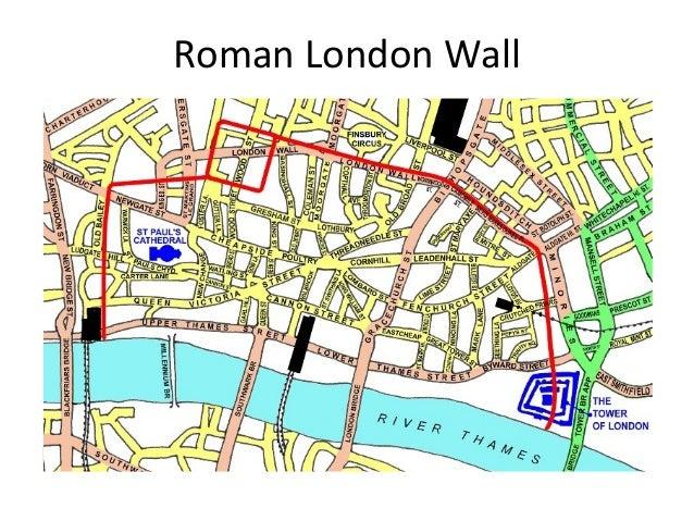 Roman London Wall