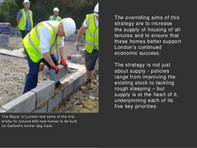 The overriding aims of this strategy are to increase the supply of housing of all tenures and to ensure that these homes b...