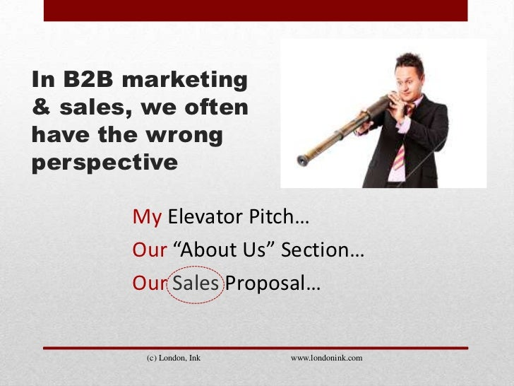 Do you know your B2B customers' Elevator Rant? Slide 2