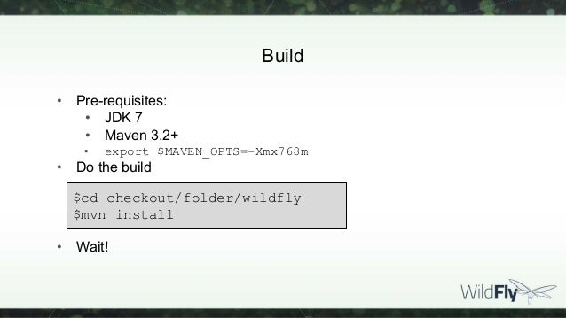 Hacking on WildFly 9