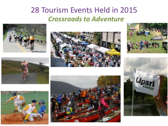 28 Tourism Events Held in 2015 Crossroads to Adventure