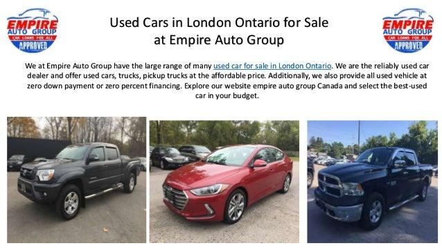 Used Car Dealers London >> London Ontario Car Dealerships