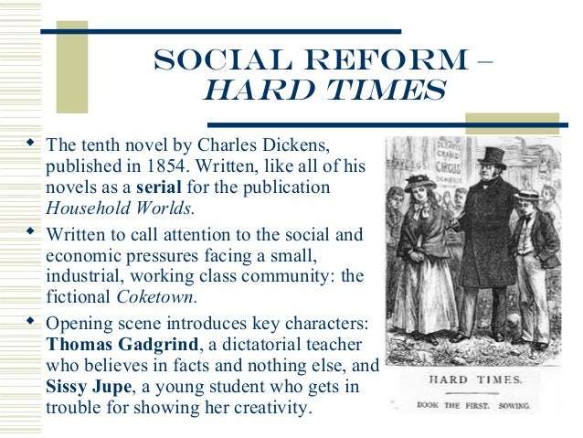 essay on hard times by charles Essay explaining how the characters in charles dickens hard times represented the english social castes.
