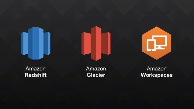 Amazon Redshift Amazon Glacier Amazon Workspaces