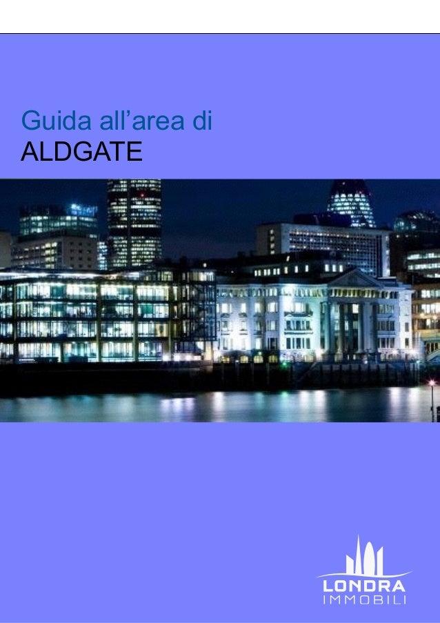 Guida all'area di ALDGATE