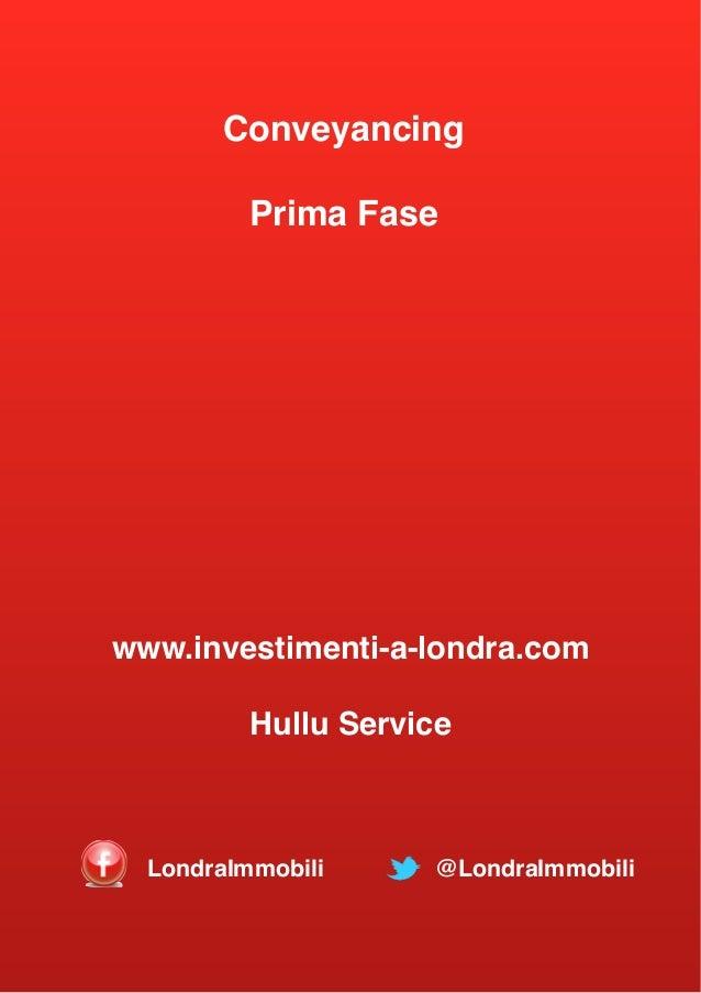 Londra procedura acquisto immobili fase 1 for Acquistare casa a londra