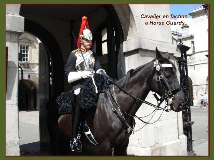 Cavalier en faction  à Horse Guards