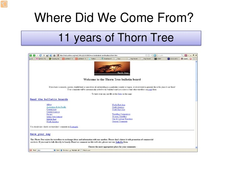Where Did We Come From?                 Talk2Us Feedback Center      A dedicated Travelers can 5     team of form strong b...