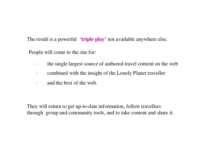Where are we going?                    Mobile Actions • Licensing our content to location based service   platforms • Prov...