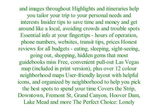 Las Vegas Travel Guide Pdf