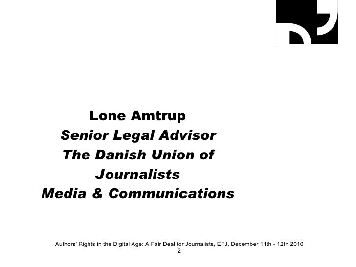 Lone Amtrup  Slide 2