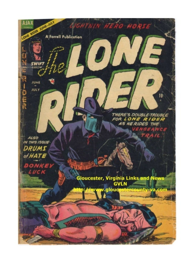 Lone Ranger  - Curse of The Claws