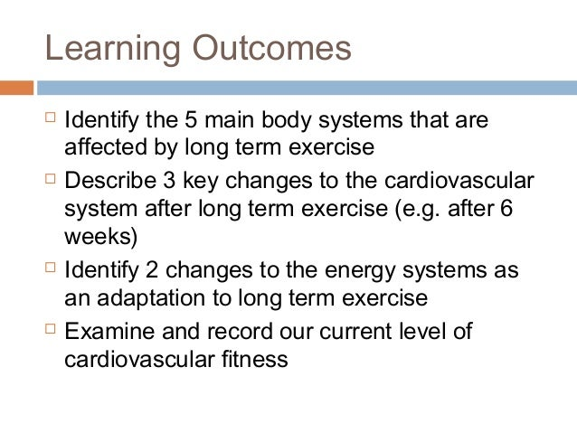 exercise and drugs on cardiovascular system Short and long term effects on the cardiovascular system recreational drugs by the end of the lesson you should have a clear understanding of the effects of exercise on the cardiovascular system exam question: a healthy.