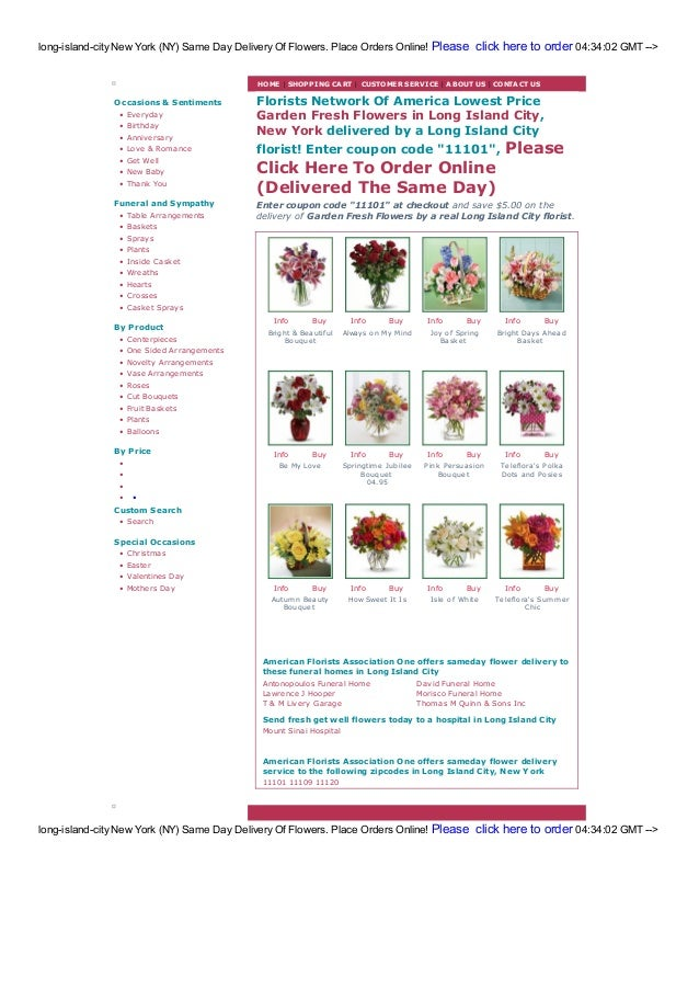 Long island-city flowers & florists same day free delivery!