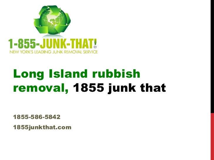 Long island-junk-removal Slide 2