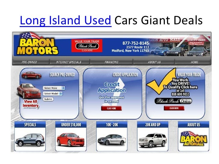 Long Island Used Cars Giant Deals<br />