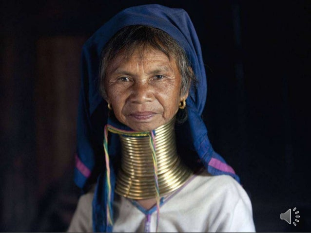 Myanmar Women of the Kayan tribes identify themselves by their forms of dress. Women of the Kayan Lahwi tribe are well kno...